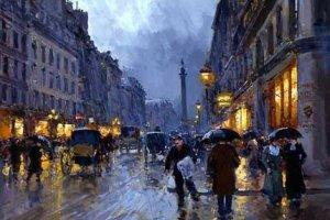 Картины дождя