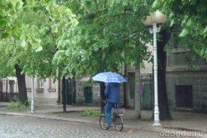 Дождь как комната за занавеской