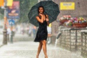 Настоящий тёплый дождь