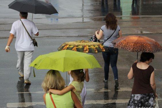 Мир, окутанный дождём