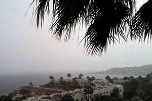Дождь в Египте