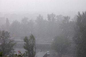 Лил дождь