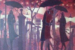 Падающий дождь или история любви и расставания