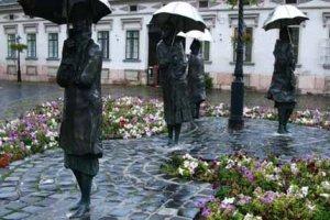 Люблю стоять под дождем