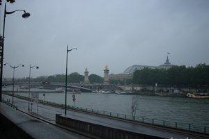 Осенний дождь в Париже