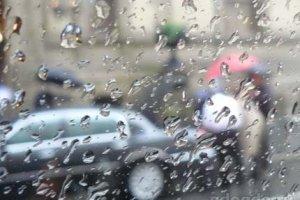 Дождь-художник поступал в Академию