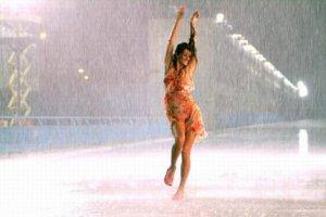 Теплый дождь и чувства