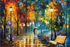 Стихи о дожде сопровождают меня давно