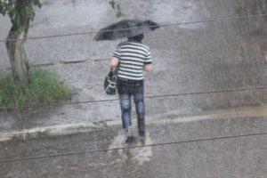 Страшные ливневые дожди