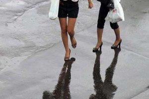 Женский дождь