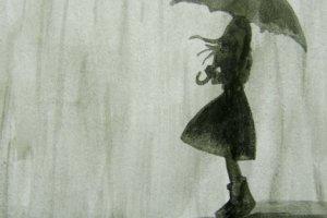 Темный дождь и легенда