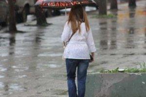 Дождь какой