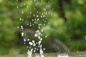 Почему дождь идет мелкими каплями