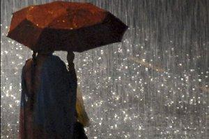 Небо плачет дождём