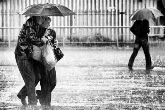 Первый весенний дождь