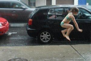 Грибной дождь, приносящий радость
