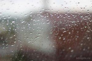 Капли дождя как будильнички