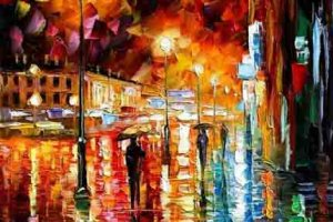 Тема дождя в творчестве