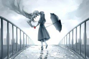 Ветер и дождь, он и она