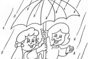 Детские загадки про дождь