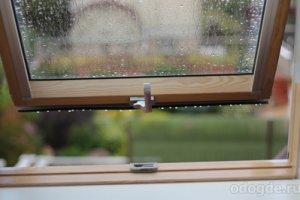 А за окнами дождь