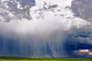 Искусственный дождь и человек