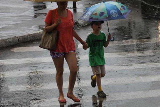 Дождь как сюрприз от природы