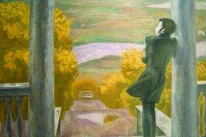 Картина Попкова «Осенние дожди»
