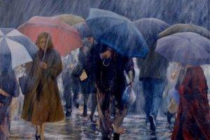 А дождь – как жизнь, а дождь – как слезы…