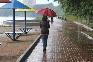 Я слушала дождь…