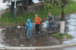 Бегать в дождь – совсем не мечта ориентировщика