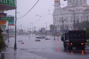 Разные последствия дождя