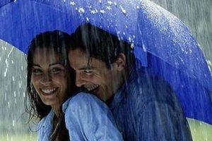 Поцелуй дождя для Неё