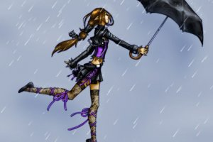 Маринкины стихи о дожде