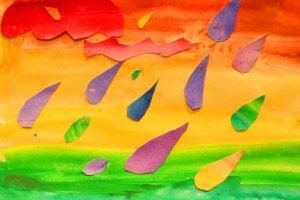 Разноцветные дожди