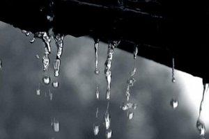 Домовой и капли дождя