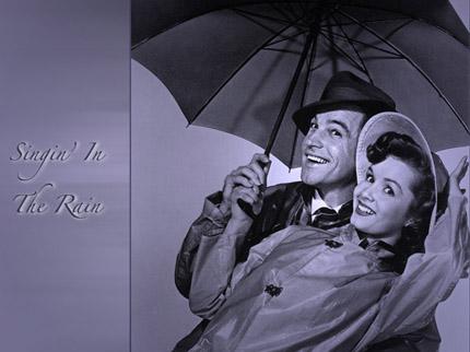 песня под дождем