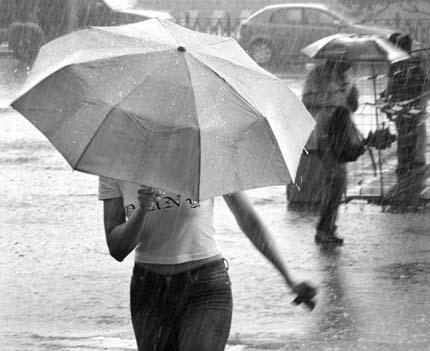 снова идет дождь