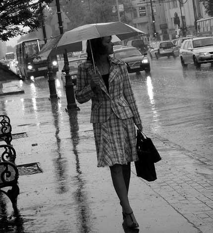 дождь влюбился