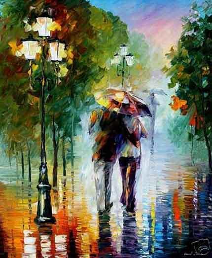 поэты о дожде