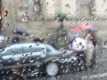 дождь-художник