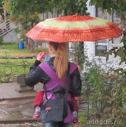 вдруг налетели дожди