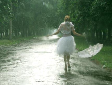Когда идет дождь