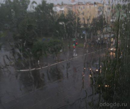 слушать дождь