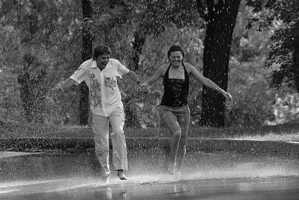 Вдвоём под дождём