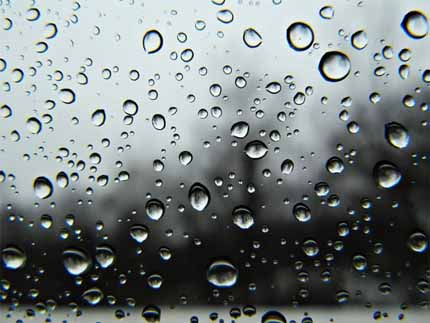 Слёзы льёт дождь