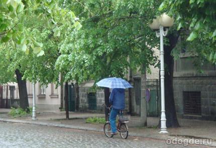 дождь вокруг нас