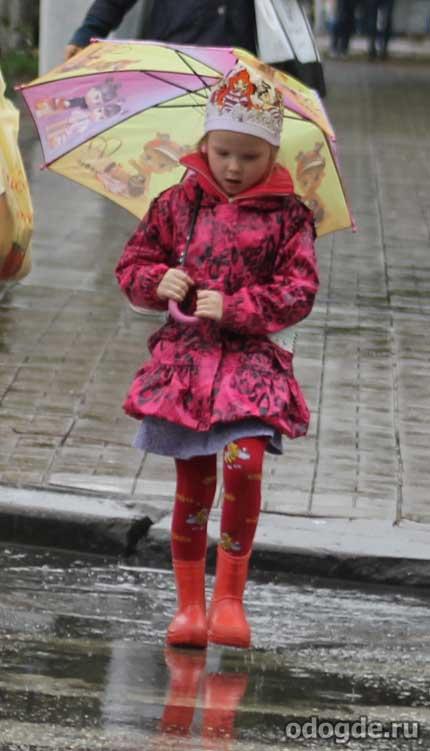 Дождь и гроза