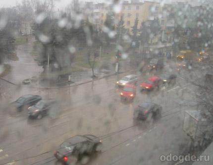 Когда за окном барабанит дождь