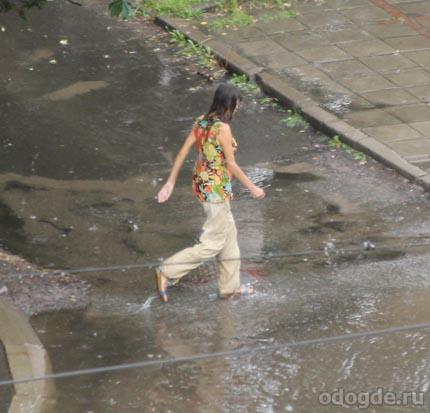 Вот такие последствия дождя